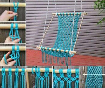 DIY Macrame Hammock