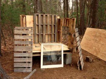 Free Pallet Wood Chicken Coop Building Plans