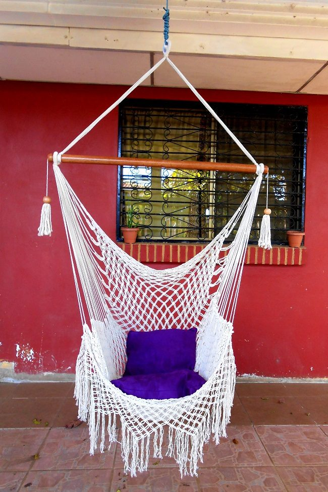 24 Amazing Macramé Hammock Patterns | Inhabit Zone