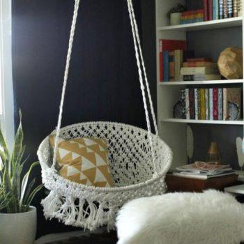 Macramé Hammock Chair Instructions