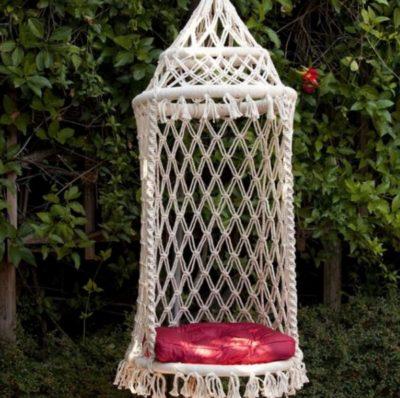 Lovely Macramé Hammock Chair Pattern