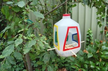 Milk Jug Bird House