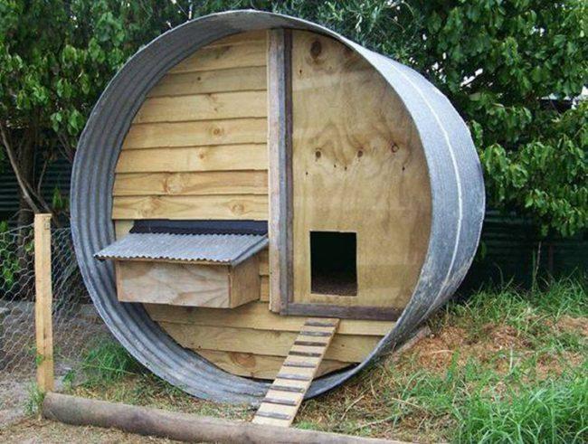 Pallet Wood Chicken Coop Building Plans