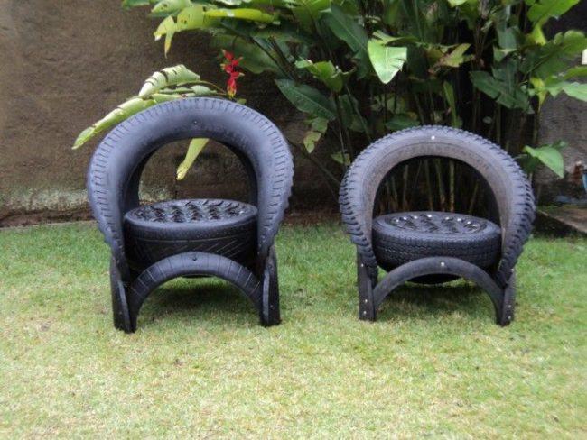 Tire Garden Chair