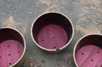 Wine Barrel Planter Liner