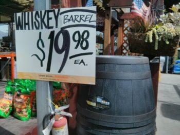 Wine Barrel Planter for Sale