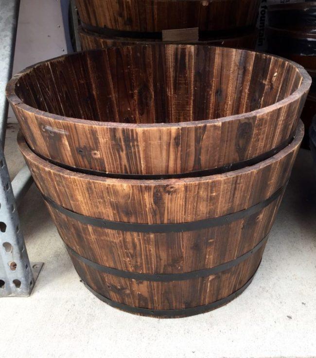Wine Barrel Planters Lowes