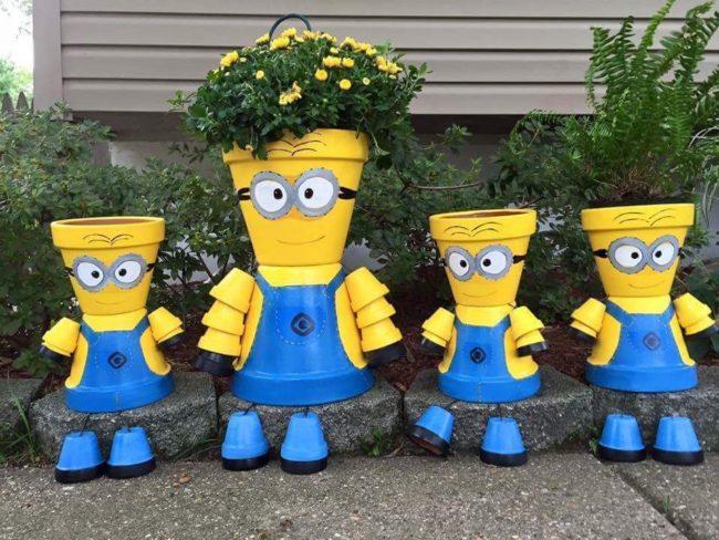 clay pot planters