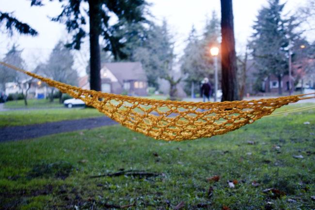 easy paracord hammock