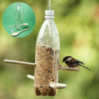 handmade bird feeders