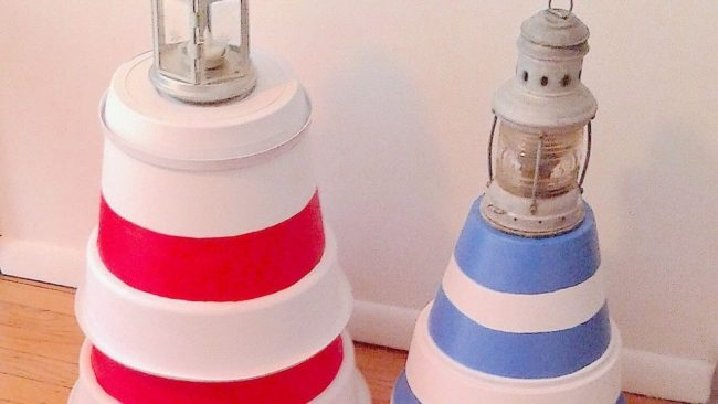 how to make a lighthouse