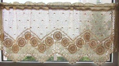 Café Crochet Curtain