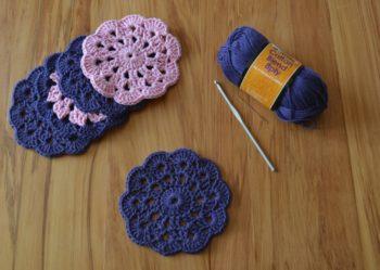 15 Crochet Coaster Patterns