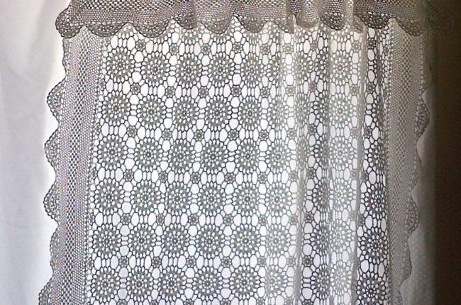 Crochet Curtain Panel