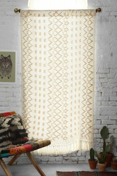 Crochet Curtains for Kid's Room