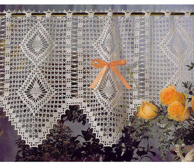 Crochet Lace Curtain Pattern