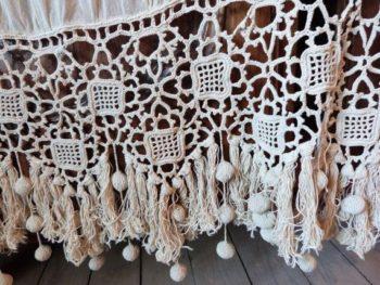 Crochet Lace Curtain