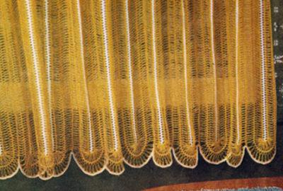Hairpin Crochet Curtain