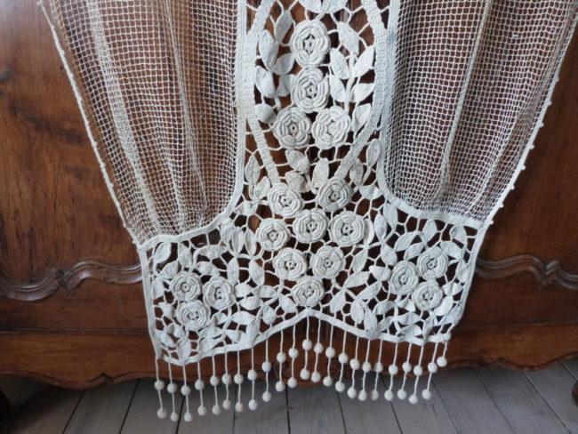 Handmade Crochet Curtain