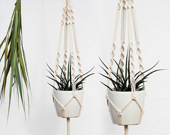 Hanging Planter Macramé