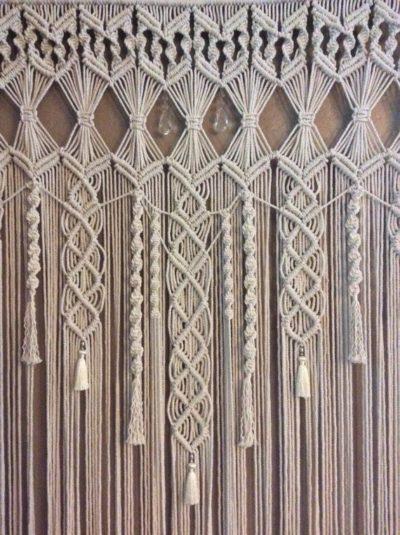 Macramé Curtain Pattern