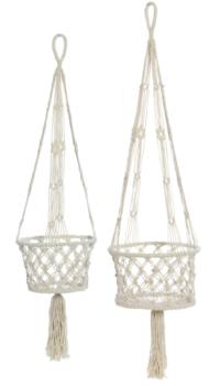 Macramé Hanging Baskets