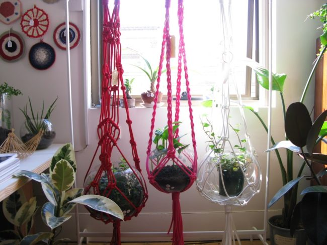 Macramé Hanging Planter Patterns