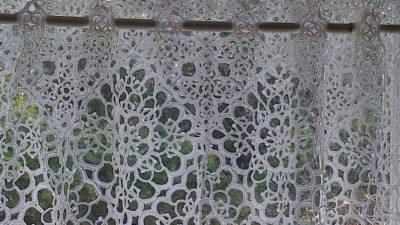 Macramé Lace Curtain