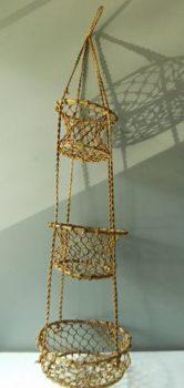 Macramé hanging basket
