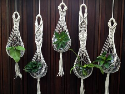 photo about Free Printable Macrame Plant Hanger Patterns named 30 Macramé Plant Hanger Practices Inhabit Zone