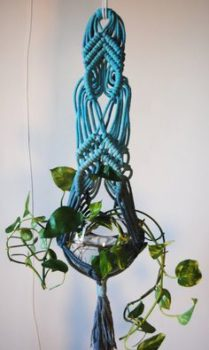 graphic about Free Printable Macrame Plant Hanger Patterns referred to as 30 Macramé Plant Hanger Layouts Inhabit Zone