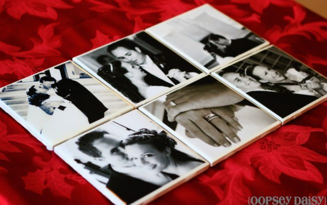 Photo Coasters DIY