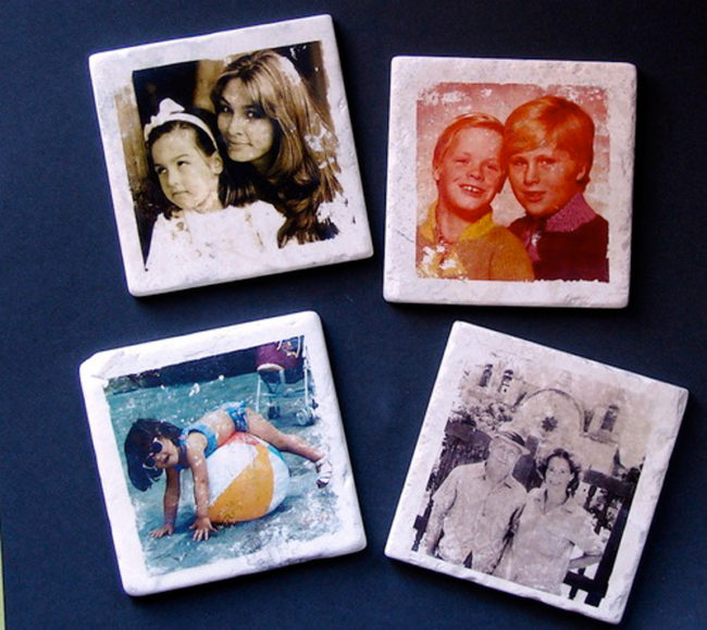 Photo Tile Coasters