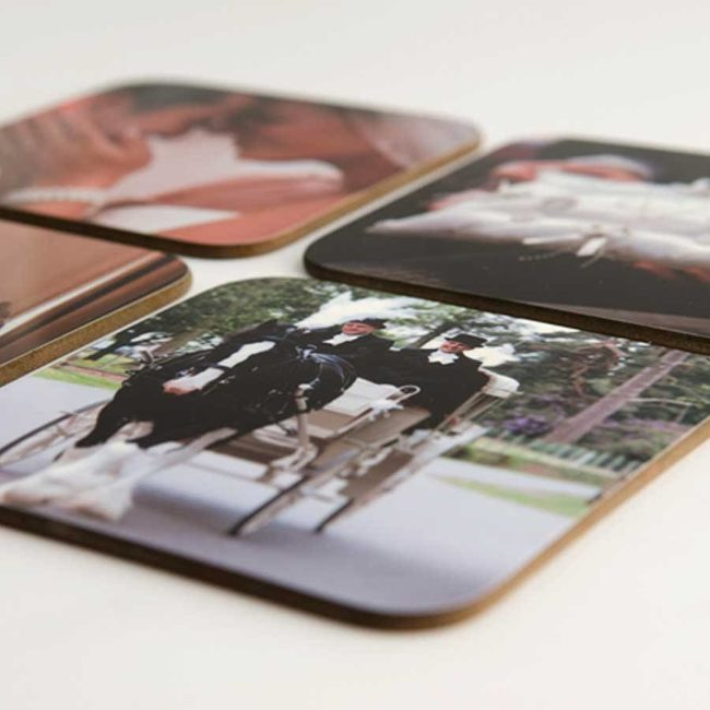 Photos On Coasters
