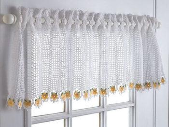 Plarn Crochet Curtain