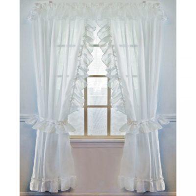 Ruffled Splendor Curtain