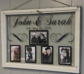 single pane window picture frame - Window Picture Frame Ideas