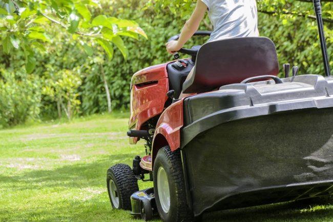 Tire Change Garden Tractor