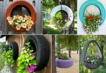 Tire Garden Design