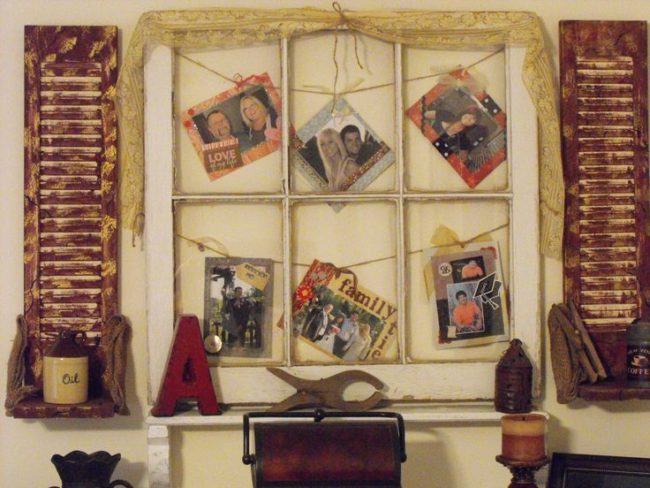 window pane picture frame ideas - Windowpane Picture Frame