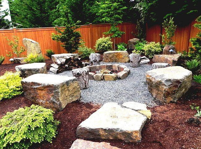 Boulders Outdoor Flooring Ideas