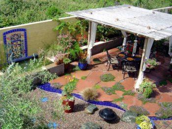 Colorful Mixture Outdoor Flooring Ideas