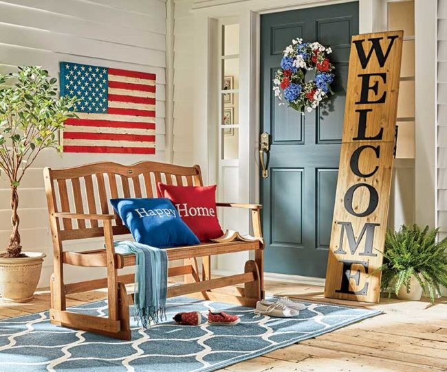 Front Porch Décor