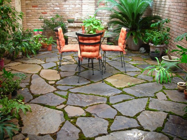 Stone Patio Outdoor Flooring Ideas