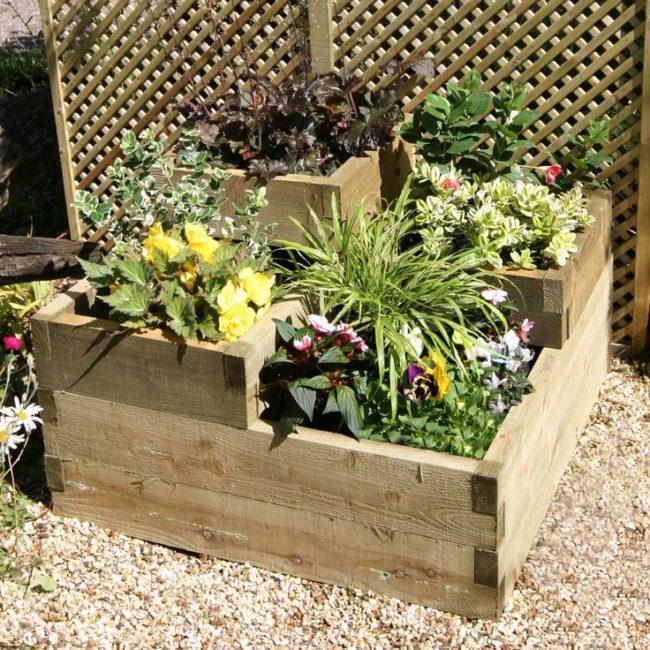 25+ Tiered Garden Walls | Inhabit Zone