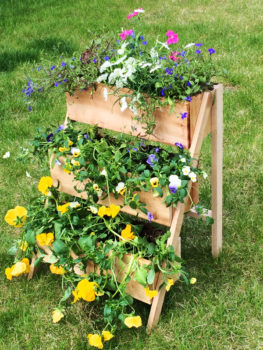 Tiered Flower Planters