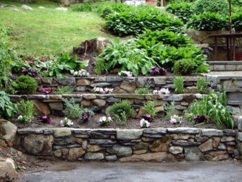 25+ Tiered Garden Walls | Inhabit Zone on flower garden design plans, tiered rock gardens, tiered landscape design, circle garden design plans,