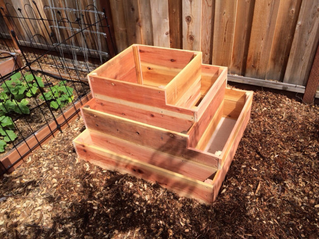 Tiered Planter Box Plans