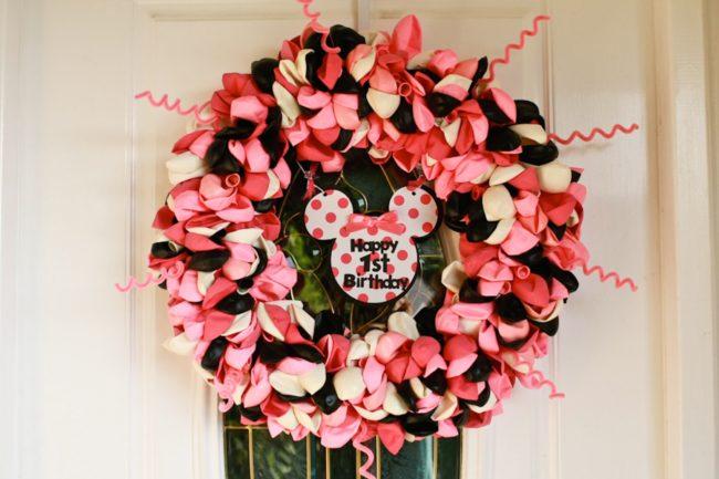 Balloon Birthday Wreath