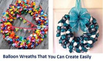 Balloon Wreaths That You Can Create Easily